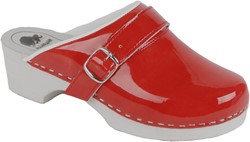 Bighorn 5038 Open Clog - Rood