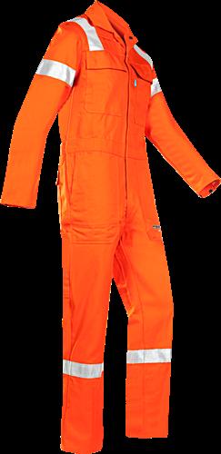 Sioen Aversa Vlamvertragende en Antistatische Overall-Oranje-I46