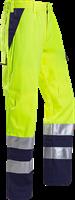 Sioen Royan Signalisatie Broek met ARC bescherming-I46-Fluo Geel/Marine