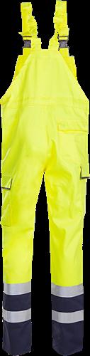 Sioen Bayonne Signalisatie Bavetbroek met ARC bescherming-R64-Fluo Geel/Marine