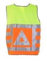 Hydrowear Maurik Verkeersregelaarsvest - Oranje/Geel-2