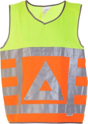 Hydrowear Maurik Verkeersregelaarsvest - Oranje/Geel-1