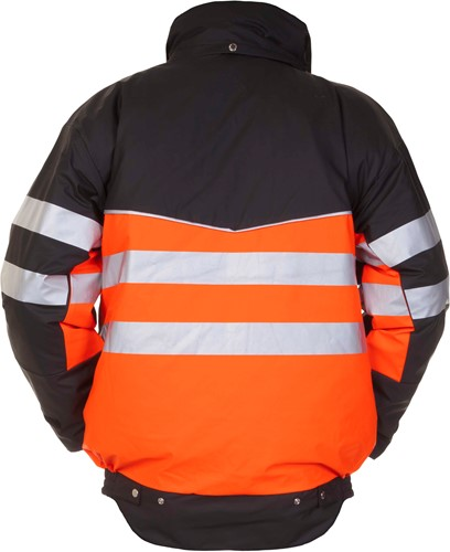Hydrowear Norwich Pilotjack - Oranje/zwart-2