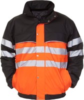 Hydrowear Norwich Pilotjack - Oranje/zwart-1