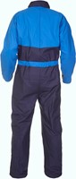 Hydrowear Seaham Coverall - Navy/Royal Blauw-2