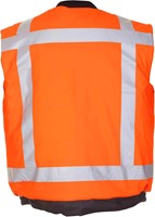 Hydrowear Odley RWS Bodywarmer - Fluor Oranje-2