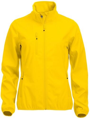 Clique Basic Softshell jacket dames-XS-Lemon
