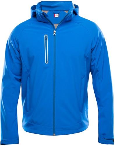 Clique Milford softshell jacket heren-XS-Kobalt
