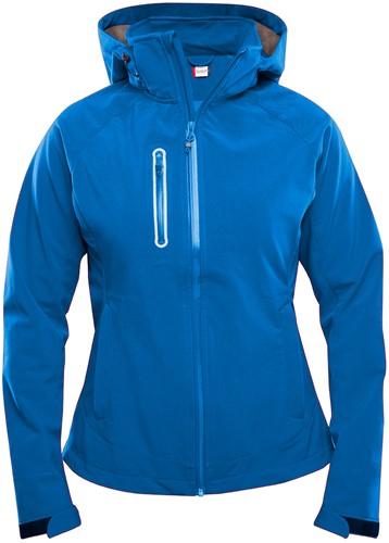 Clique Milford dames softshell jacket-S-Kobalt