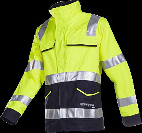 Sioen Reggio Signalisatie Blouson met ARC bescherming-046-Fluo Geel/Marine