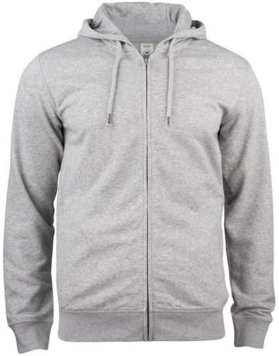 Clique 021004 Premium OC Hooded Sweater Met Rits