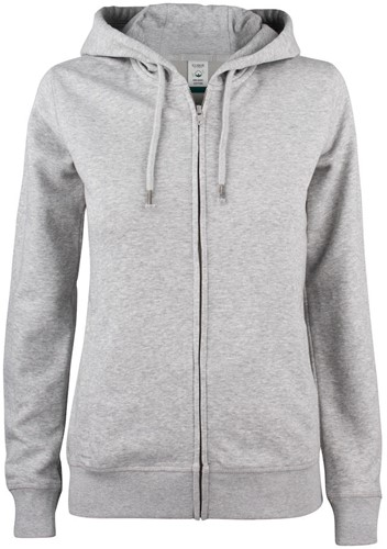 Clique 021005 Premium OC Dames Hooded Sweater Met Rits