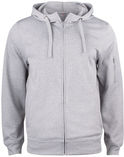 Clique 021014 Basic Active Hooded Sweater Met Rits