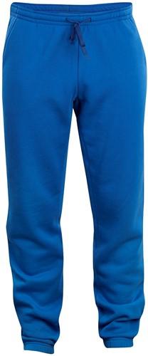 Clique Basic pants jr-Kobalt-90/100