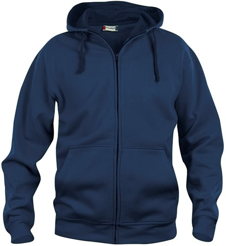 Clique 021034 Basic Hooded Sweater Met Rits