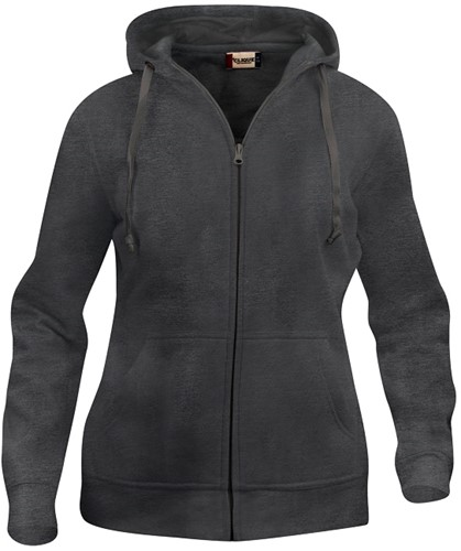 Clique 021035 Basic Dames Hooded Sweater Met Rits