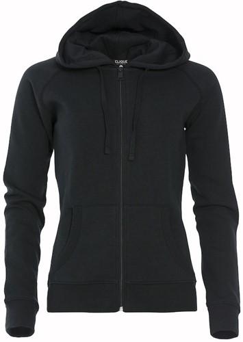 Clique 021047 Loris Dames Hooded Sweater Met Rits