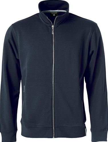 Clique Classic French Terry jacket-XS-Dark navy
