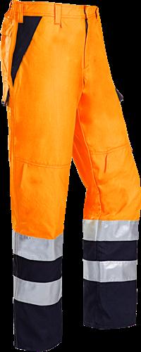 Sioen Arudy Signalisatie broek met ARC bescherming-I46-Fluo Oranje/Marine