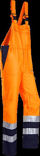 Sioen Viana Signalisatie Bavetbroek met ARC bescherming-R56-Fluo Oranje/Marine