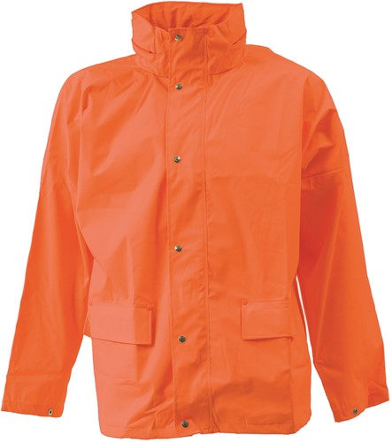 Elka Rain Regenjas-Oranje-XS