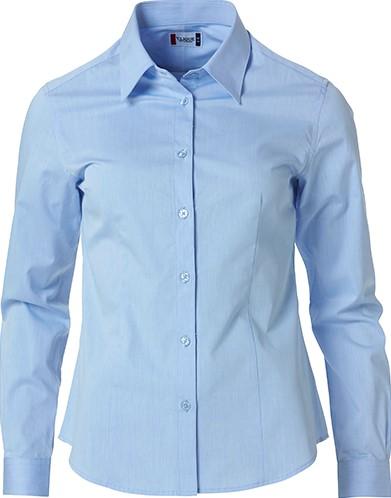 Clique Clare dames overhemd-S-Lichtblauw