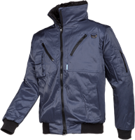 Sioen Hawk Winterblouson Met Afneembare Mouwen-S-Marineblauw