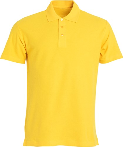 Clique Basic heren polo-XS-Lemon