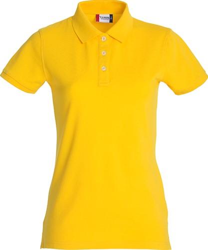 Clique Premium dames polo-S-Lemon