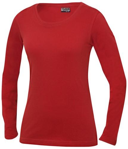 Clique 029319 Carolina Dames T-Shirt Lange Mouwen