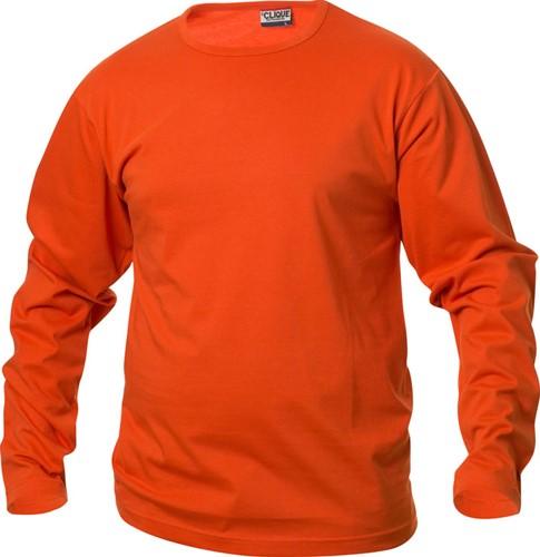Clique Fashion-T T-shirt L/S-XS-Dieporanje