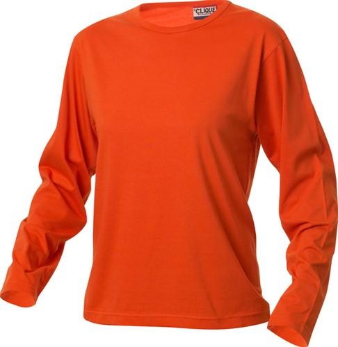 Clique Fashion-T T-shirt L/S ladies-S-Dieporanje
