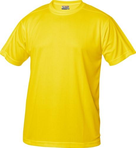 Clique Ice-T t-shirt hr polyester-S-Lemon