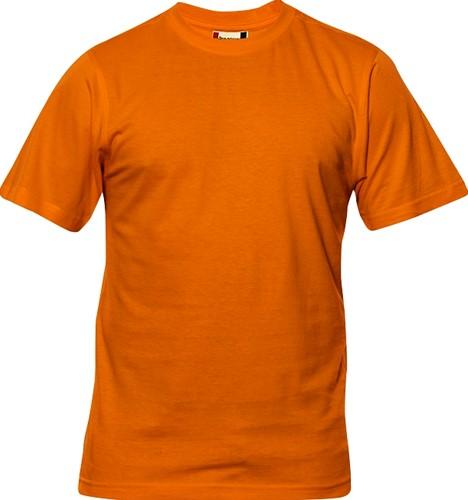 Clique Premium-T hr t-shirt-S-Dieporanje