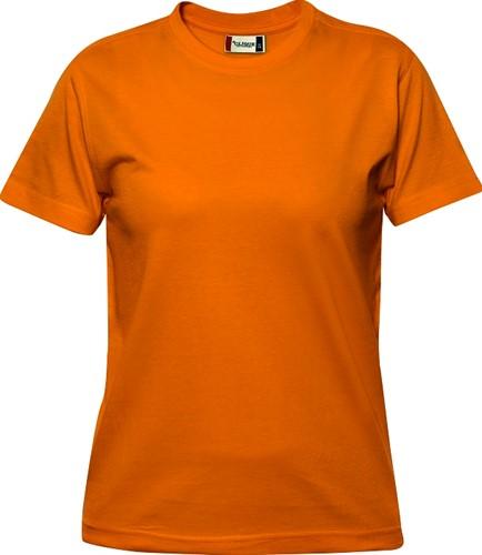 Clique Premium-T ds t-shirt-S-Dieporanje