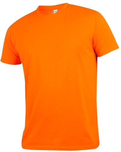 Clique Neon-T t-shirt polyester-XS-Neon oranje