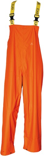 Elka Rain Bib & brace-Oranje-XS