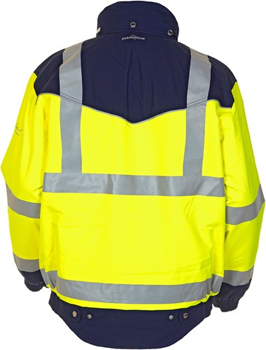 Hydrowear Furth Hi-Vis Jacket-Geel/Navy-XXL-2