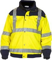 Hydrowear Furth Hi-Vis Jacket-Geel/Navy-S