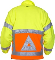 Hydrowear Florence Verkeersregelaars Fleece - Geel/Oranje-2