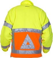 Hydrowear Florence Verkeersregelaars Fleece - Geel/Oranje