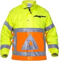 Hydrowear Florence Verkeersregelaars Fleece - Geel/Oranje-1