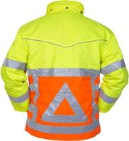 Hydrowear Florence Verkeersregelaars Parka - Geel/Oranje-2