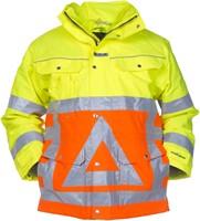 Hydrowear Florence Verkeersregelaars Parka - Geel/Oranje-1