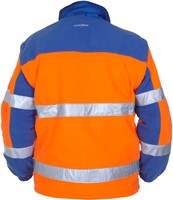 Hydrowear Fulda Fleece - Oranje/Royal Blauw-2