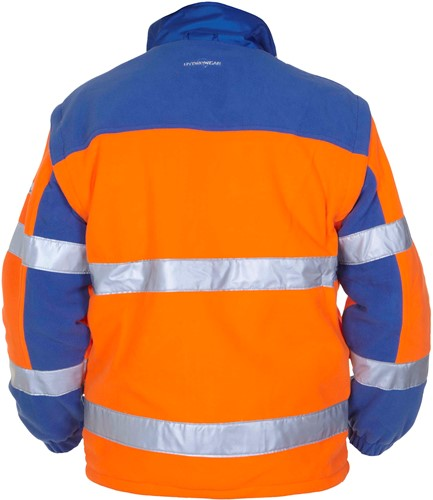 Hydrowear Fulda Fleece - Oranje/Royal Blauw