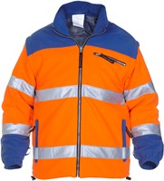 Hydrowear Fulda Fleece - Oranje/Royal Blauw