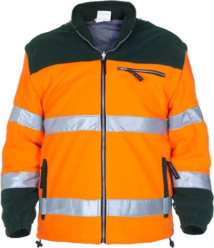 Hydrowear Fulham Fleece - Oranje/Groen-1
