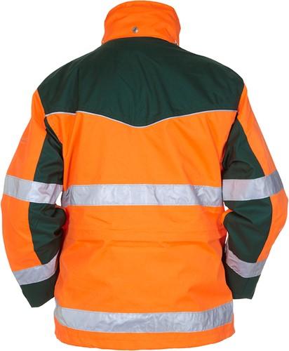 Hydrowear Fulham Parka - Oranje/Groen-2