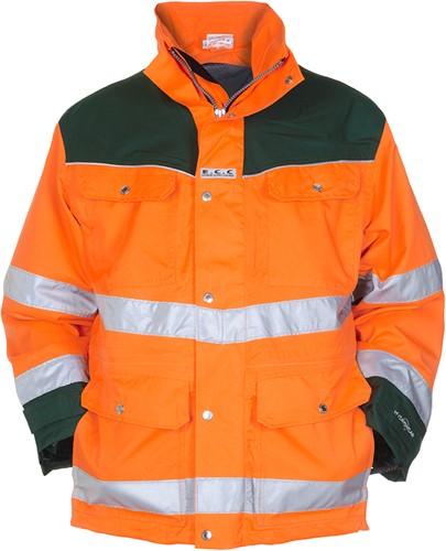 Hydrowear Fulham Parka - Oranje/Groen-1